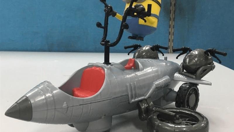 O carrinho de controle remoto do Minions 2