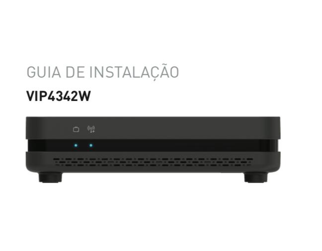 ARRIS VIP4342W, um decoder IPTV