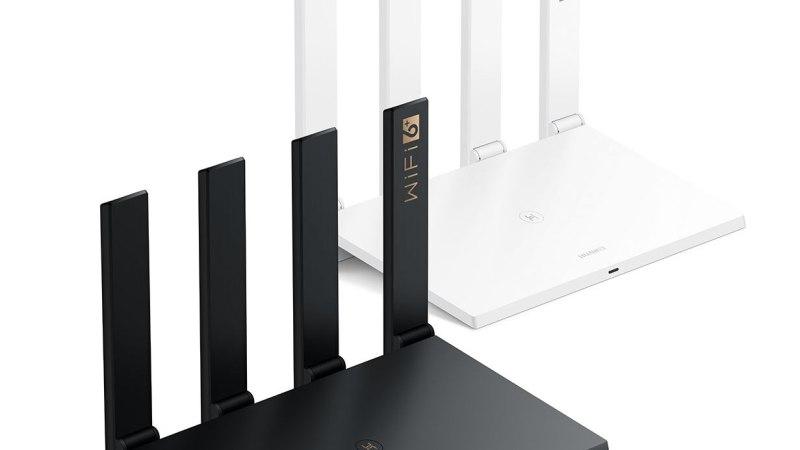 Huawei homologou mais um roteador WiFi6