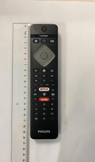 Um controle remoto com Alexa pra Philips