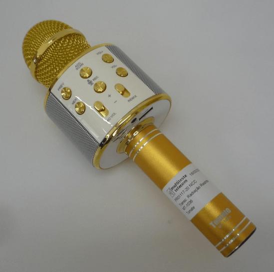 Os microfones de karaokê xing-ling da Tomate