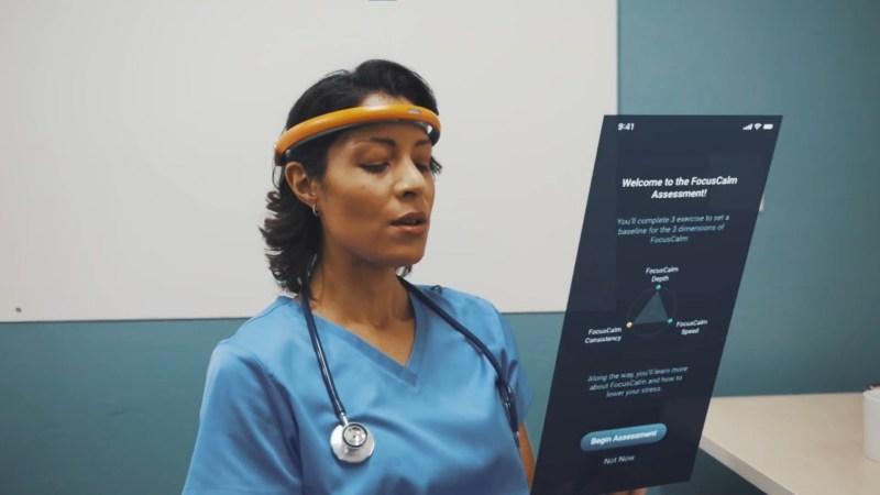 FocusCalm Headband: uma headband bizarra que promete reduzir stress