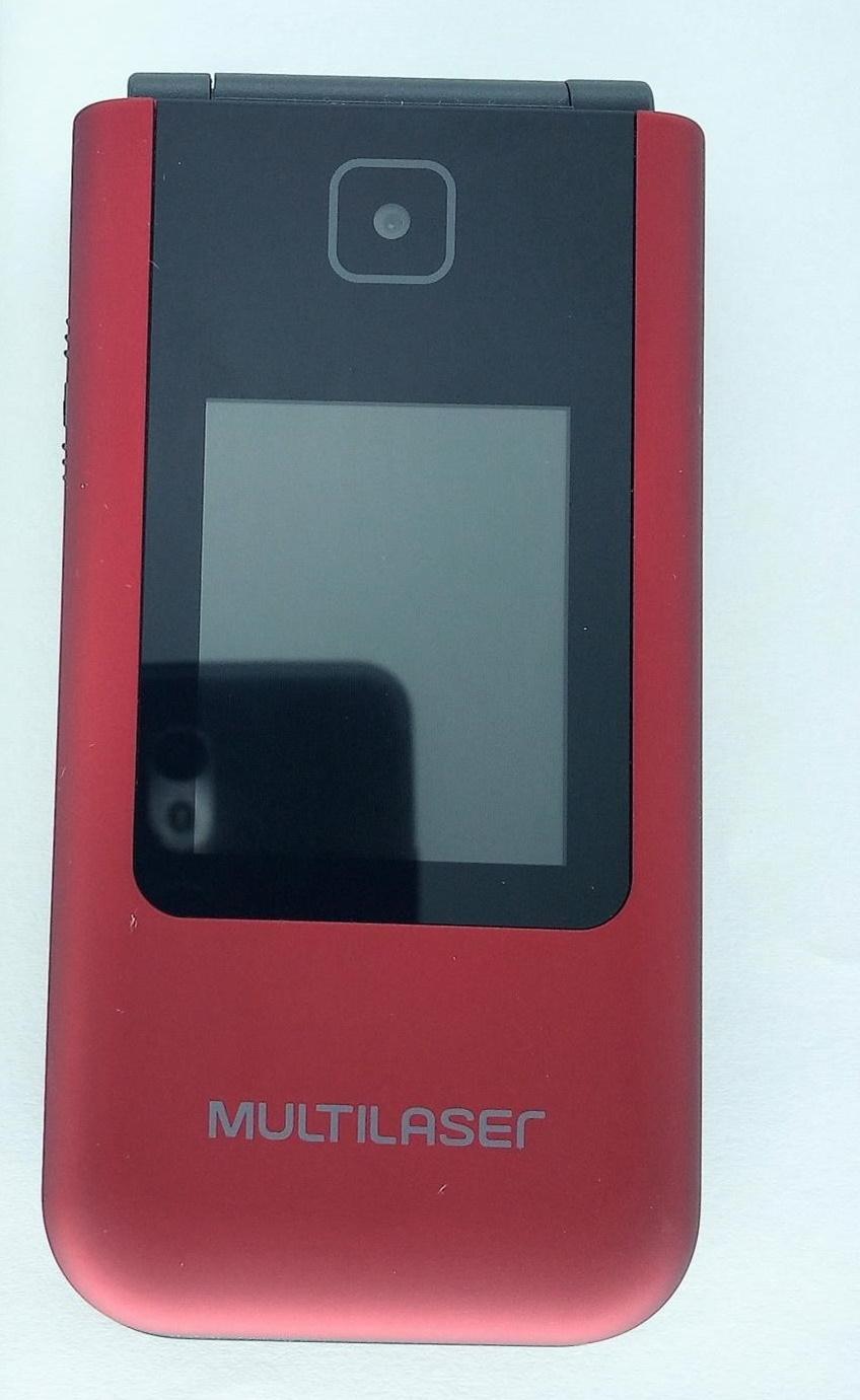 Multilaser Flip Vita Duo: um vovóphone em vermelho