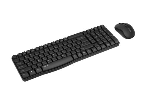 Multilaser homologa mouse e teclado da Rapoo em duas cores