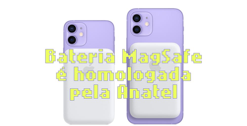 Apple MagSafe Battery Pack é aprovado pela Anatel