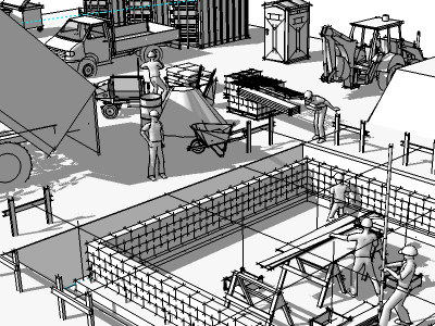 Insitebuilders/3D Construction Modeling