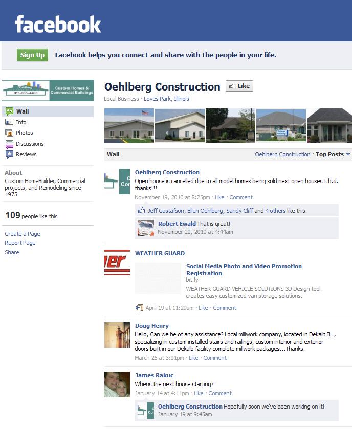 Insitebuilders: Oehlberg Homes