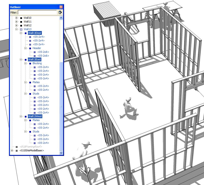 Insitebuilders - SketchUp Outliner