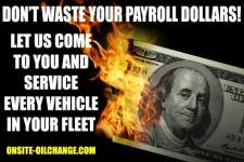 OnSite OilChange can handle your fleet maintenance