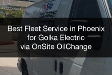 OnSite OilChange Provides Best Fleet Service in Phoenix