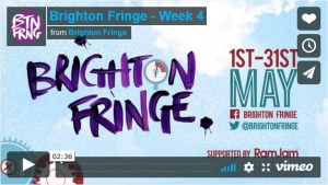 in situ: at Brighton Fringe video