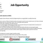 Job Opportunity-Regional Services Manager