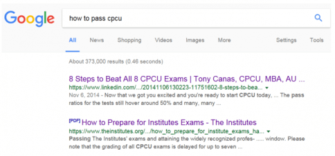 How To Pass CPCU in a Flash - It Doesn't Take a Genius