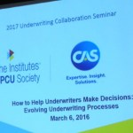 5 Takeaways from the 2017 CPCU Underwriting Collaboration Seminar