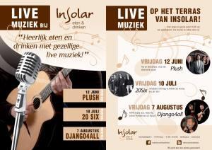 Live muziek Insolar Huizen