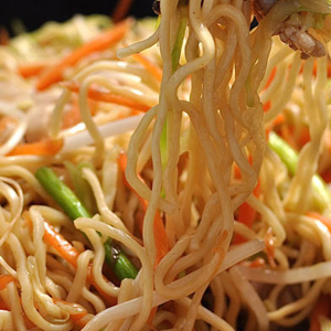 Le chow mein
