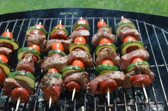 Barbecue au verger