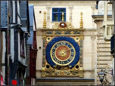 Le Clos de la Risle : Le gros Horloge à Rouen