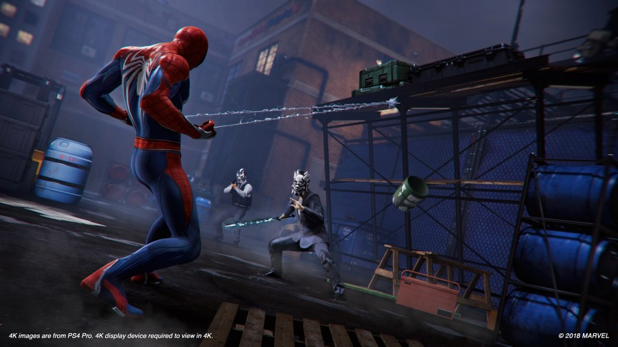 Marvel s Spider Man   Insomniac Games Images