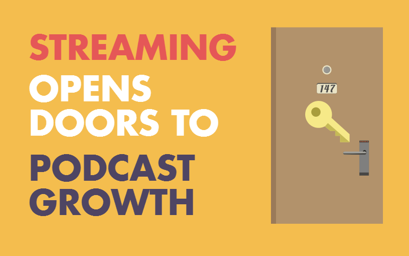 Easy Streaming Opens Doors to Strong Podcast Growth