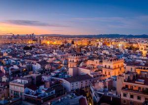 The city of Valencia