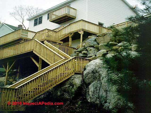 Exterior Stairways Guide To Outdoor Stair Railing Landing | Garden Handrails For Steps | Modern Hand | Wooden | Free Standing | Solid Wood | Stair Railing