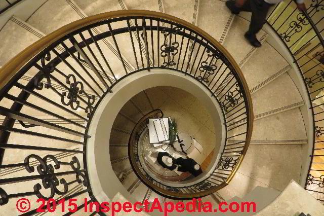 Circular Stairs Circular Stair Kits Circular Star Inspection | 6 Foot Spiral Staircase | Tread Depth | Stair Kit | Metal | Building Code | Hayden Gray