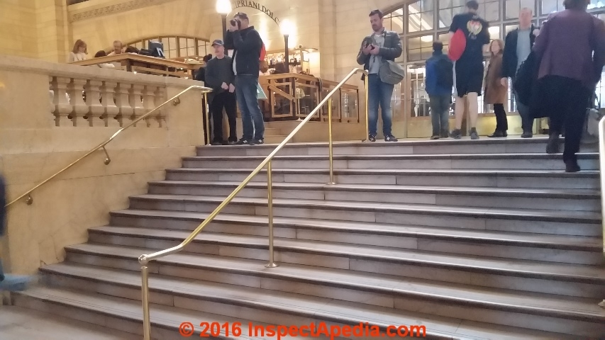 Handrails Guide To Stair Handrailing Codes Construction Inspection | Short Handrail For Stairs | Exterior Handrail Ideas | Deck Railing Ideas | Spiral Staircase | Concrete | Wrought Iron