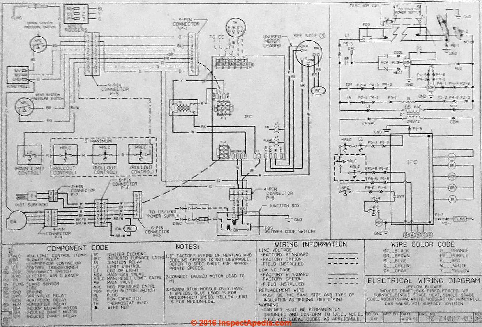 Rheem_AHU_Wiring_Diagram_IAP?resize\=840%2C571 rheem ac unit wiring diagram rheem wiring diagrams collection Rheem Thermostat Wiring at n-0.co