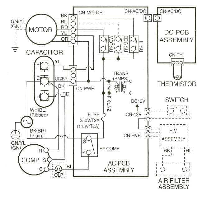 Sears_Window_580_Wirings?resizeu003d665%2C616 central air conditioning schematic diagram efcaviation com ge air conditioner wiring diagram at webbmarketing.co