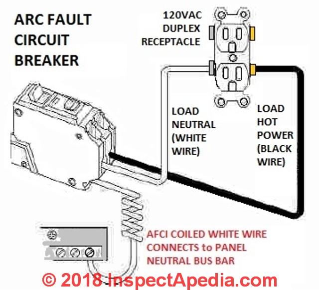 AFCI 120V?resize\=359%2C325 gfi breaker wire diagram trusted wiring diagram
