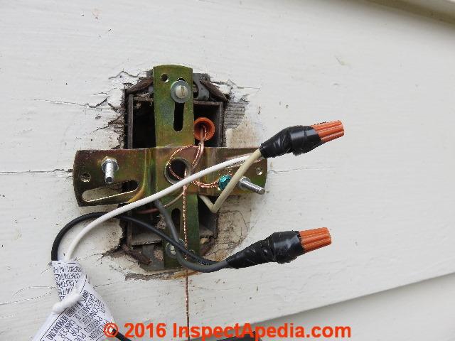 security or motion sensing light installation  repair