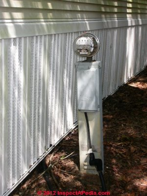 Mobile Home Electrical Inspection Guide  How to inspect