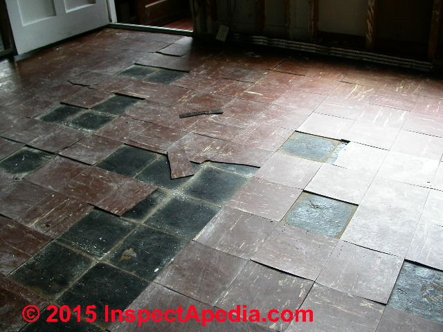 how to reduce the hazard floor tiles