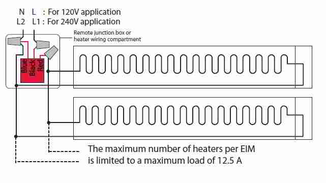 line voltage thermostats for heating  cooling
