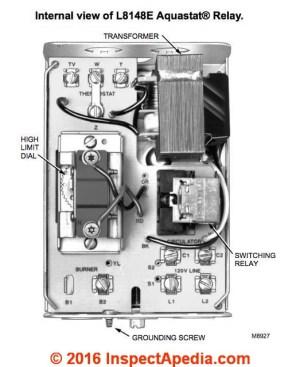 Aquastats: Setting & Wiring Heating System Boiler Aquastat