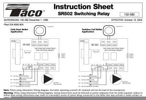 Zone Valve Wiring Installation & Instructions: Guide to