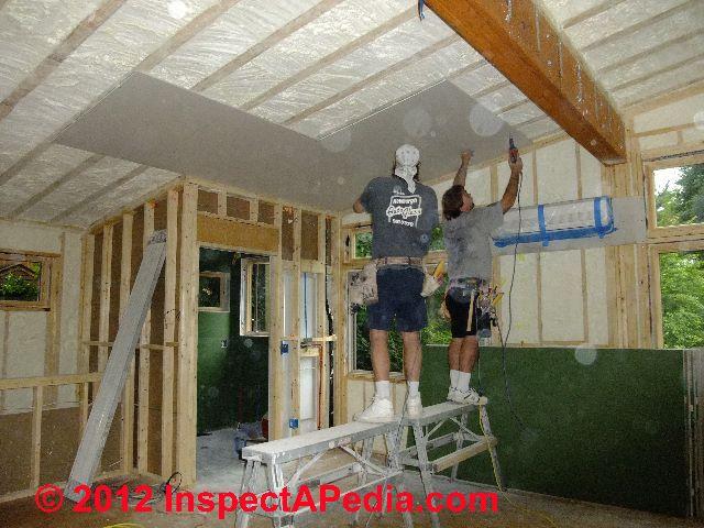 Installing Drywall Ceiling Over Plaster Nakedsnakepress Com
