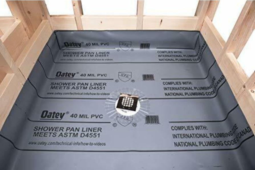 shower pan shower pan membrane
