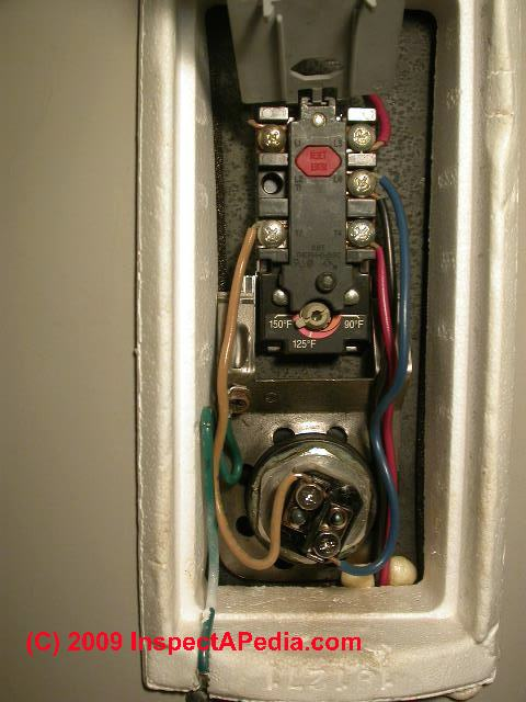 electric water heater reset switch diagnosis  repair how