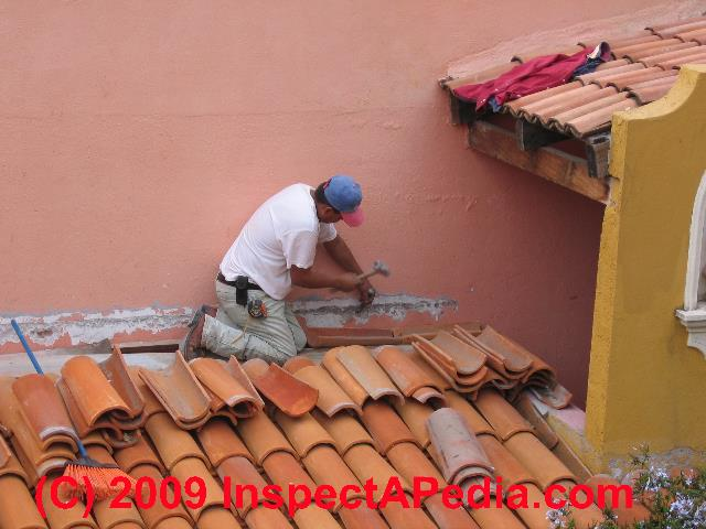 clay tile roof installation how to