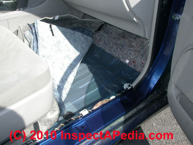 Car Mold Smell Traced To Carpeting And Insulation C Daniel Friedman