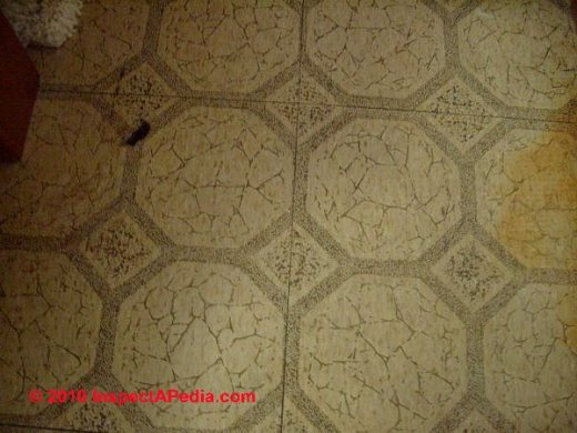How to identify asbestos floor tiles or asbestos containing sheet     How to Identify Asbestos Floor Tiles   Sheet Coverings   Asbestos Suspect Floor  Tiles   Sheet Flooring