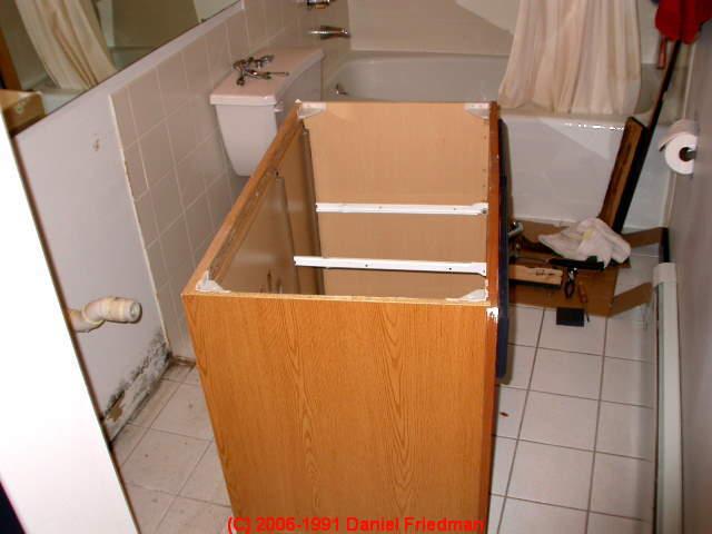 kitchen or bathroom cabinets