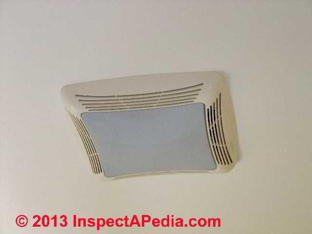 bathroom vent exhaust fan size
