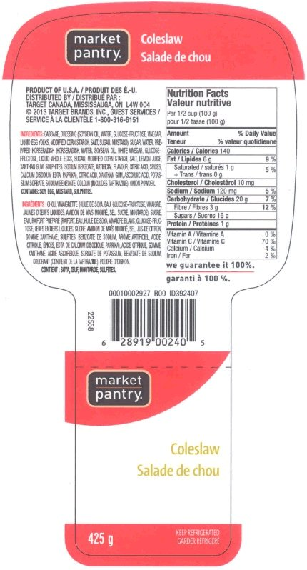 Market Pantry - coleslaw