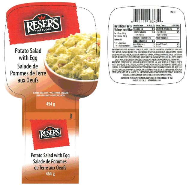 Reser's Fine Foods - Potato Salad with Egg - 454 gram