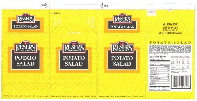 Reser's Fine Foods - Potato Salad (bulk)