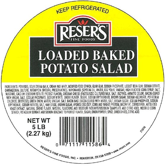 Reser's Fine Foods - Loaded Baked Potato Salad (bulk)