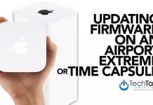 Update Firmware On An Airport Extreme or Time Capsule